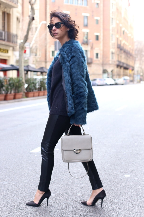 style in lima coat sweater pants shoes bag