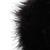 Black Sleeveless Fox Fur Vest - Sheinside.com