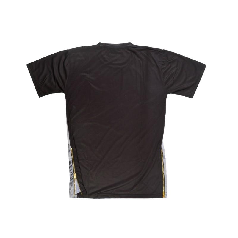 Zippers print t-shirt
