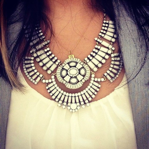 jewels necklace boho statement necklace