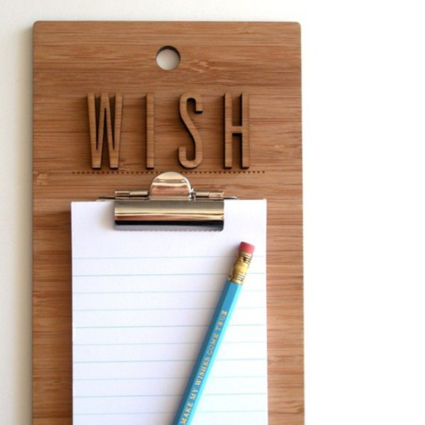 home accessory notebook wood pencils new years resolution desk mothers day gift idea