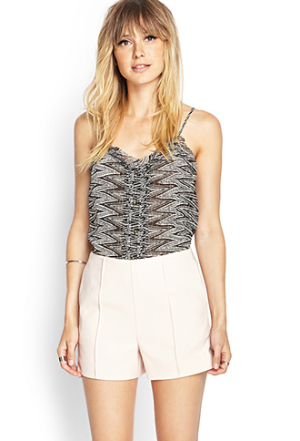 Pleated Woven Shorts   FOREVER21 - 2000069680