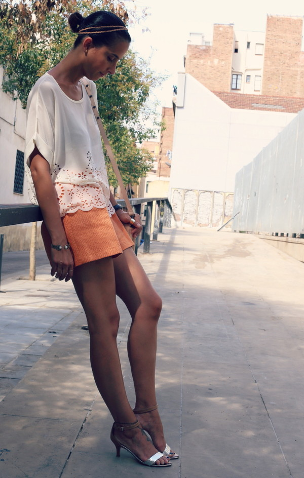 style in lima blouse shorts shoes bag jewels