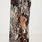 Marble drape skirt