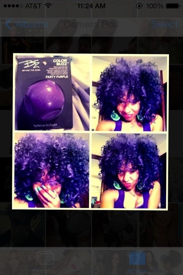 shirt purple hair purple hair chalk hair