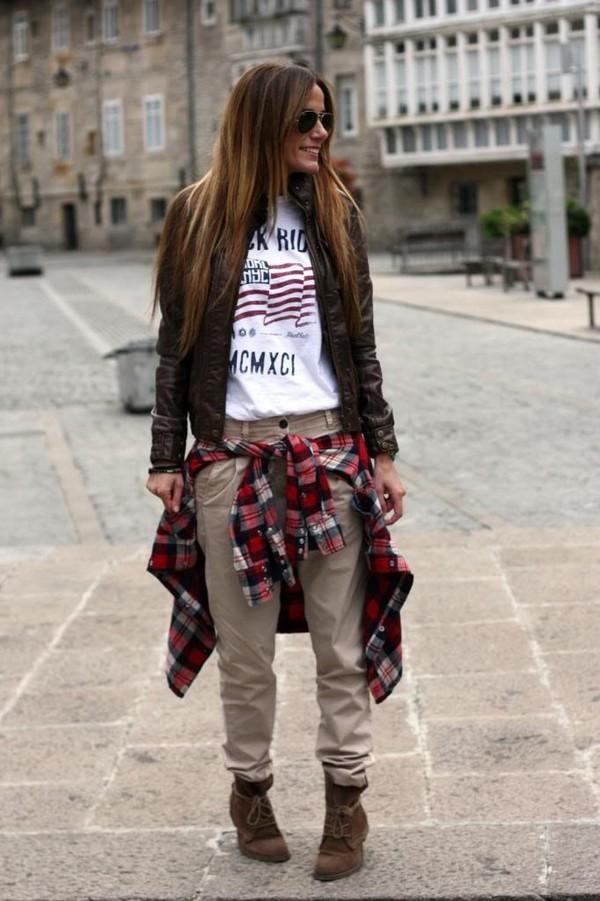 rebel attitude jacket t-shirt shirt pants shoes