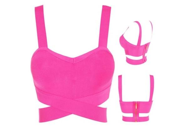 shirt pink pink shirt crop tops top singlet zip tank top