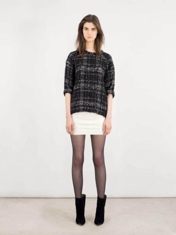 shirt iro fashion lookbook skirt