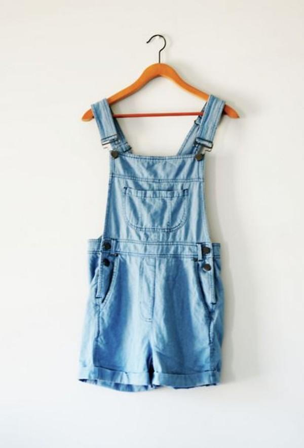 shorts overalls jeans denim acid wash shoes dungarees demin jeans dress blue buttons salopette jumpsuit