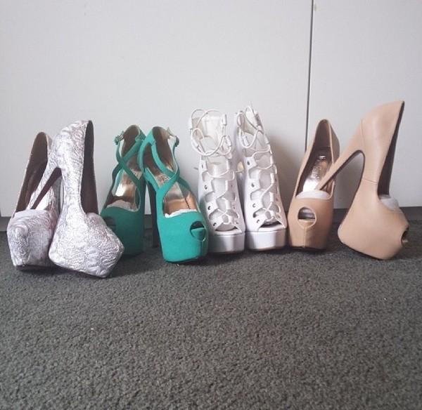 shoes platform high heels high heels cross heels teal heels heels for a party sexy heels platform heels