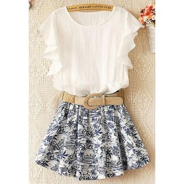 dress skirt fashion clothes