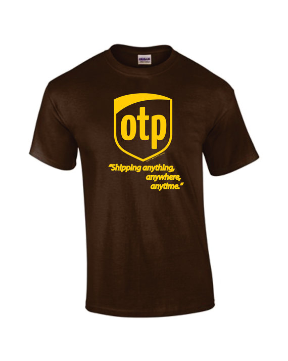 OTP Parody Logo Shirt  Shipping Anything Anytime by TheAardvark