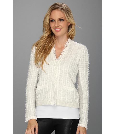 Rebecca Taylor Knit Blazer Heather Gray/Cream - Zappos.com Free Shipping BOTH Ways