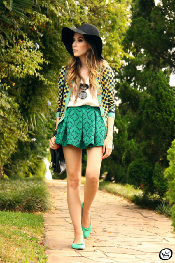 fashion coolture sweater skirt bag hat