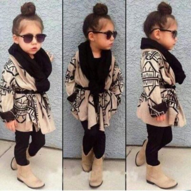 cardigan kids fashion want exactly this one scarf