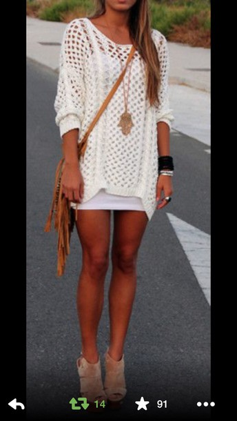dress knitted sweater