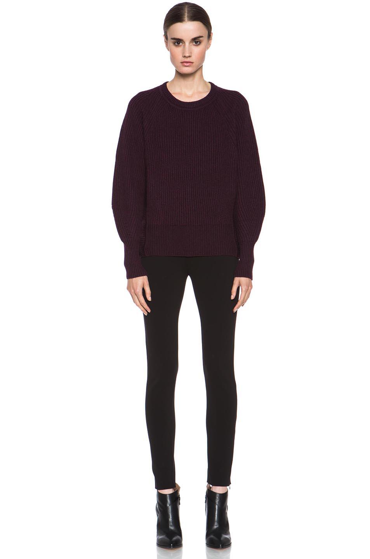 Isabel Marant Etoile|Barett Sweater in Burgundy