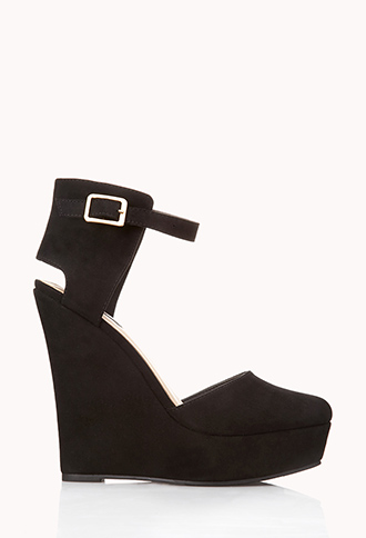 Timeless Faux Suede Wedges | FOREVER21 - 2040496810