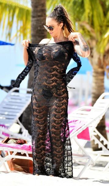 dress lace dress jodie marsh summer outfits maxi dress black