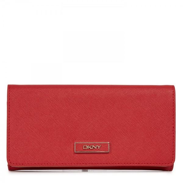 bag wallet dkny donna karan new york leather wallet red wallet saffiano leather leather designer wallet fashion designer wallet couture celebrity style