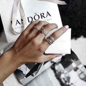 jewels tumblr accessories ring pandora