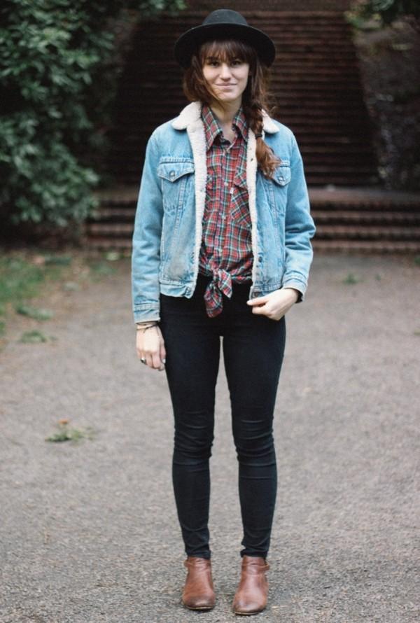 the mop top hat jacket t-shirt jeans shoes