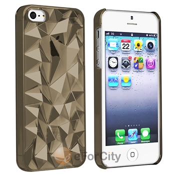Color 3D Diamond Ultra Thin Cover Clear Crystal Case for iPhone 5 5S 5g 5th | eBay