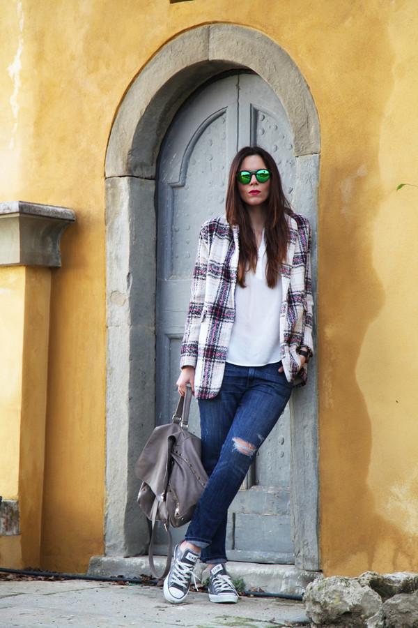 irene's closet sunglasses coat shoes shirt bag jewels