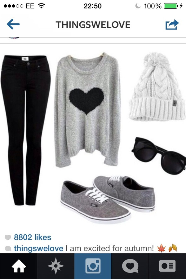 sweater shirt hat jeans shoes hair accessory pom pom beanie grey grey sweater heart long sleeves pants blue dark wash black dark sunglasses coat grey lazy day glasses skinny jeans beanie 90s style winter sweater fluffy cool goth pastel goth sweater heart grey vans blouse heart shirt black heart gray and black hipster girly converse grey sweater with a black heart top black white grey sweater grey sweater with black heart gray sweater with black heart gray vans vans black sunglasses gray sweaters gray hoodie style knitted sweater oversized sweater sweater hearts design fall outfits fall sweater fall jacket fall winter outfits fall coat winter outfits winter coat winter jacket winter swag winter coat heart sweater grey sweater with black hear black jeans