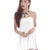 *RESTOCKED* White romper dress | Kissablebella