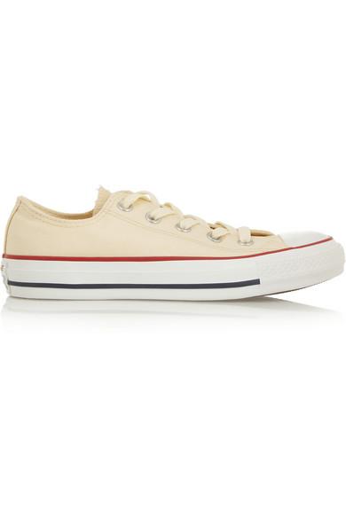 Converse Chuck Taylor canvas sneakers NET-A-PORTER.COM