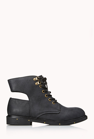 Go-To Combat Boots | FOREVER 21 - 2000108196
