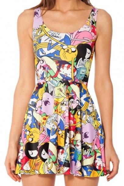 dress adventure time dress cartoon adventure time cartoon cartoon characters casual dress