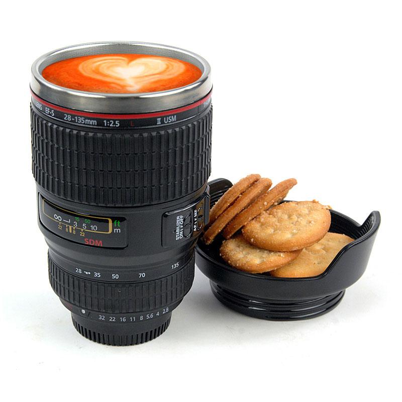 Creative Travel Camera Lens Mug &Coffee Cup on Luulla