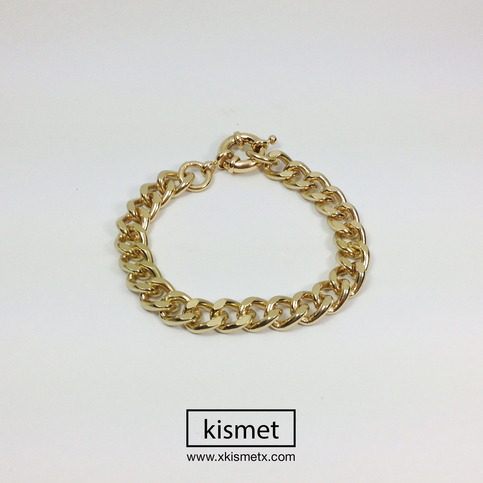 Thin Gold Chain Bracelet · kismet · Online Store Powered by Storenvy