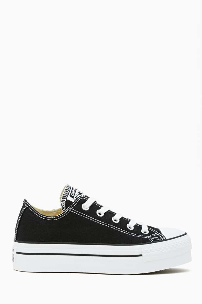 Converse All Star Platform Sneaker - Black  in  Shoes Sneakers at Nasty Gal