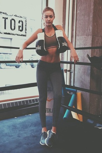 leggings gigi hadid sportswear sports bra sports pants
