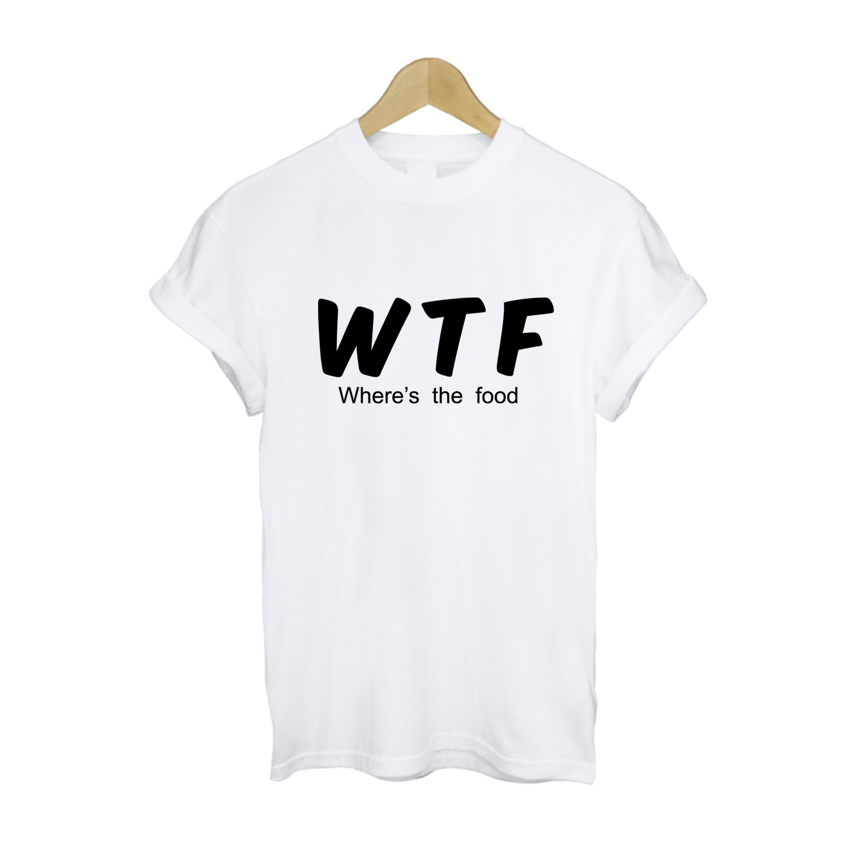 WTF (Where's The Food) T Shirt £10   Free UK Delivery   10% OFF
