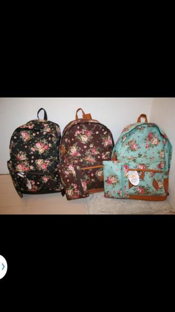 bag vintage backpack perfect