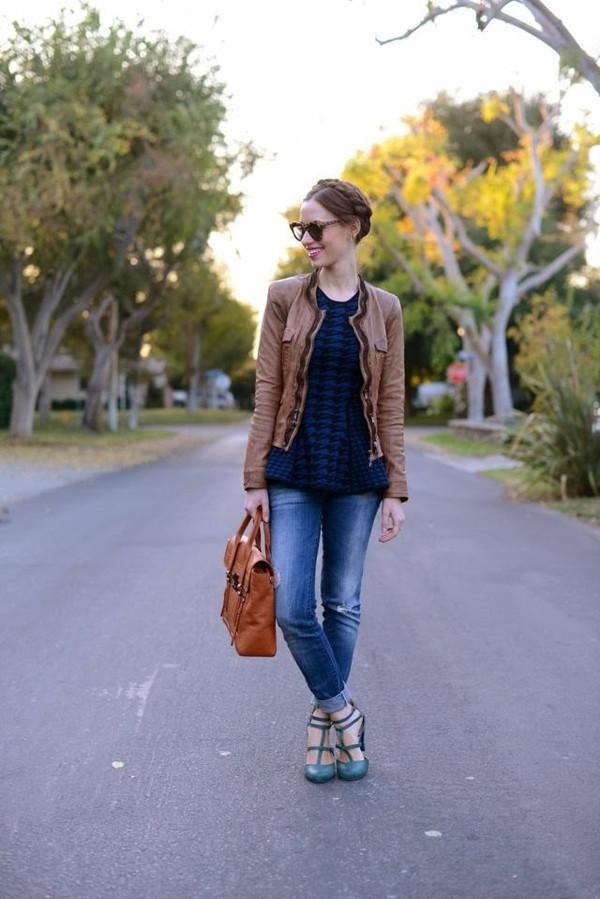 m loves m t-shirt jeans jacket shoes bag sunglasses