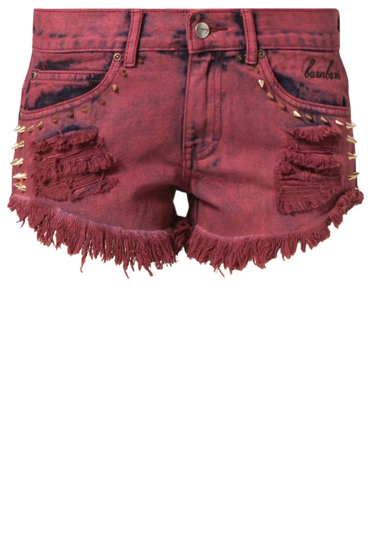 BamBam PAPER CUTS BAMBINO - Jeans shorts - Rood - Zalando.nl