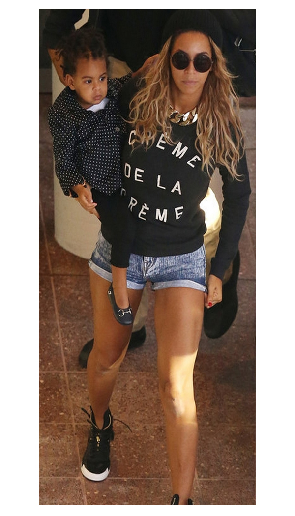 Beyonce Creme Del Creme Sweater | OMG Fashion