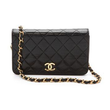 WGACA Vintage Vintage Chanel Flap Cross Body Bag on Wanelo