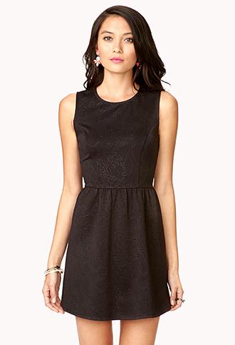 Baroque Dress | FOREVER21 - 2053256115