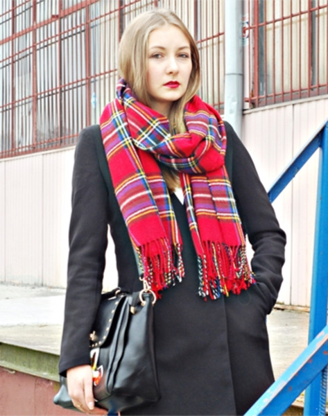 Black Blazer In Longline | Choies