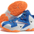 LeBron James 11 XI Nike NBA Kicks Blue White Orange Silver