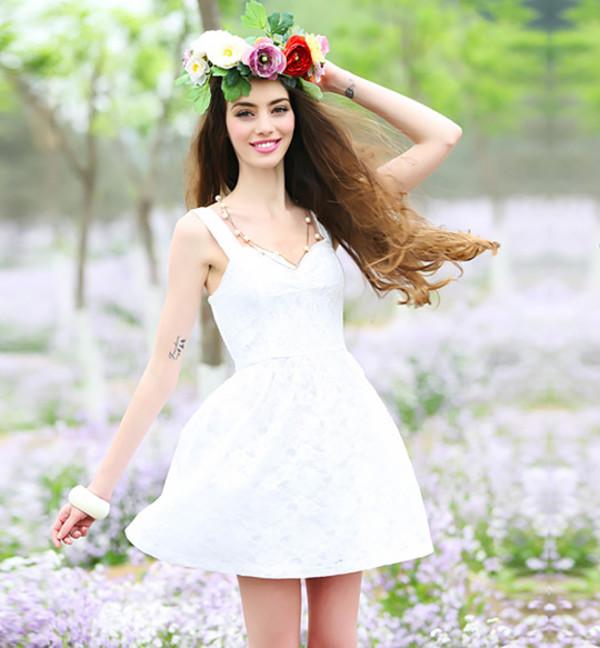 dress summer dress cute