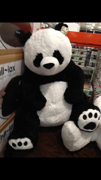 home accessory stuffed animal panda bear panda stuffed animal