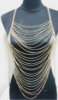 PLUS SIZE 3X 2X 1X womens Multi Layers Chains par AllSizeHOTChicks