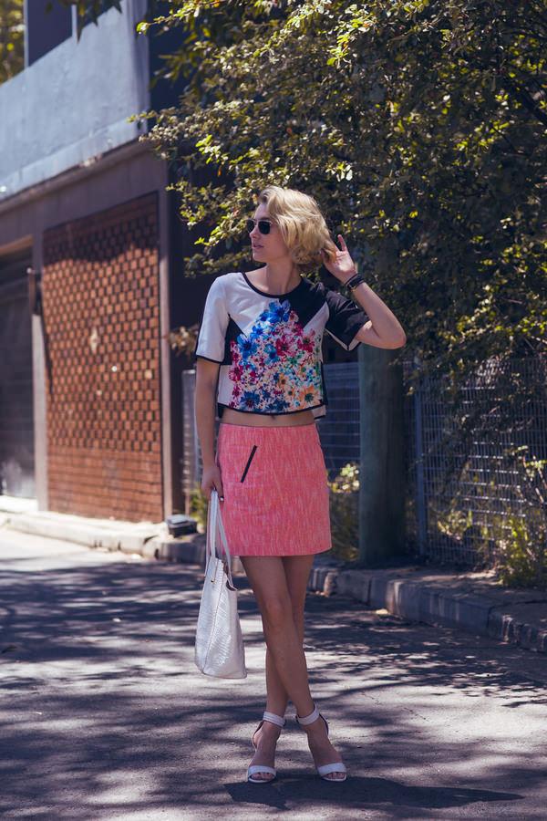 zanita shirt skirt shoes jewels sunglasses blogger